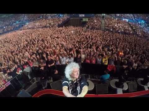 Selfie Stick Video | Birmingham (Final Night), England [December 16, 2017] Queen + Adam Lambert