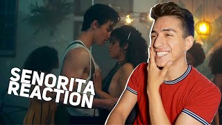 SHAWN MENDES, CAMILA CABELLO- SENORITA  REACTION|E2 reacts