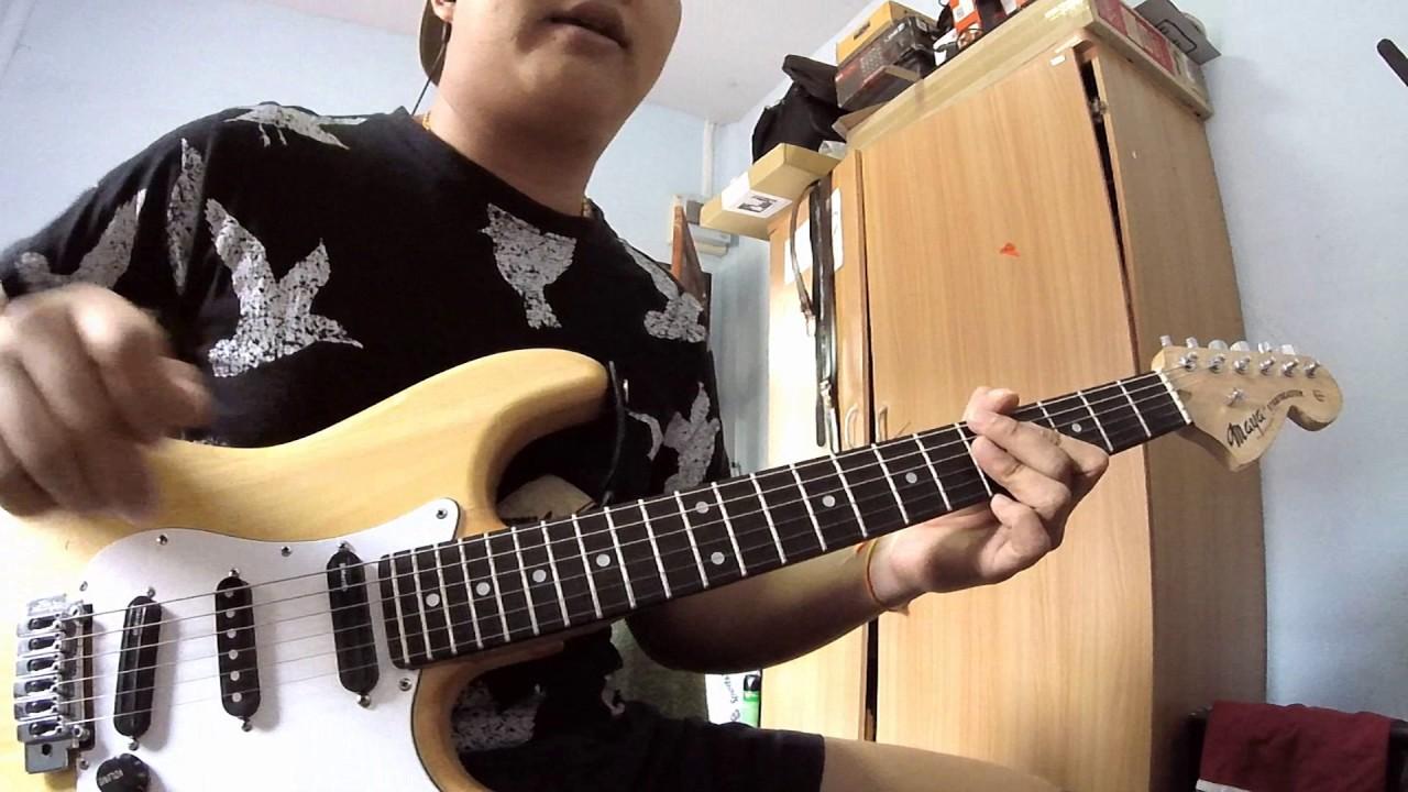 Naughty guitar lick pentatonic free for