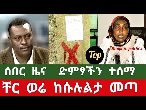 The Ethiopian Government Finally Responded