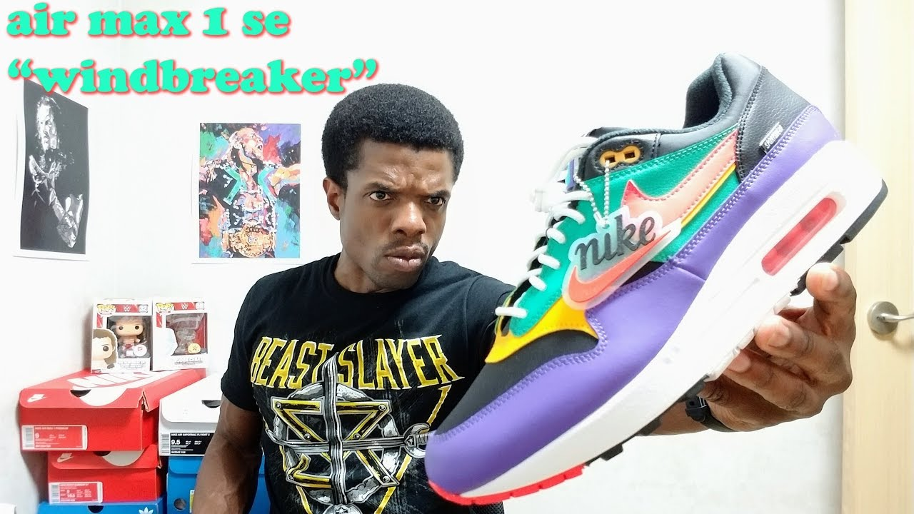 """Nike Air Max 1 SE """"Windbreaker"""" aka"""