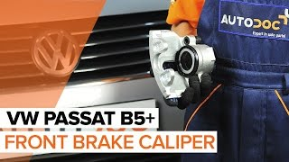Watch our video guide about VW Brake caliper troubleshooting