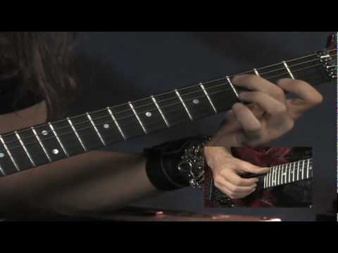 Kiko Loureiro, from his Rock House DVD CREATIVE FUSION, Beyond Power Chords & Pentatonics