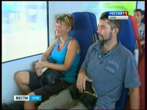 Ласточка теперь ездит из Сочи в Краснодар