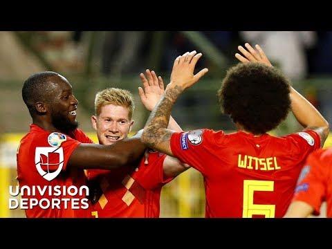 Bélgica 3-0 Escocia - RESUMEN Y GOLES - Grupo I - Clasificatorio Eurocopa 2020