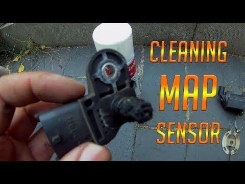 How to MAP sensor cleaning or replacing boost sensor (Manifold Air Pressure) 1.9 diesel