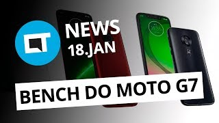 Benchmarks do Moto G7; Serviços da Dark Web; Google Pixel Watch? E + [CT News]