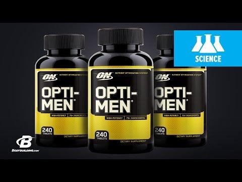 Optimum Nutrition Opti-Men Multivitamin | Science-Based Overview