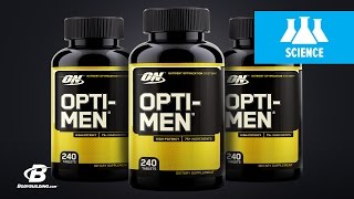 видео Opti-Men Optimum Nutrition (180 таб)
