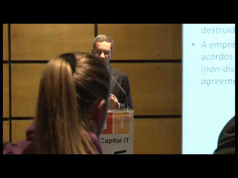 Intervenção de João Marcelino no XIII Venture Capital IT