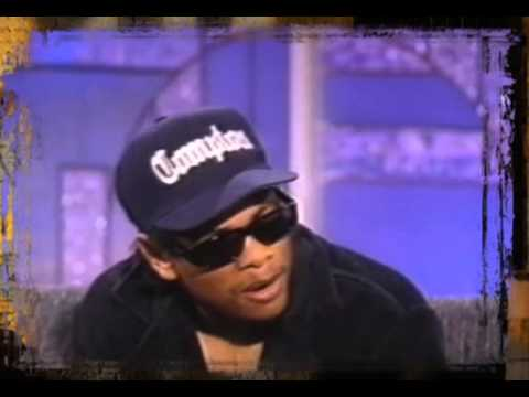 Eazy E   Real Compton City G's and Interview Live On Arsenio Hall Show)