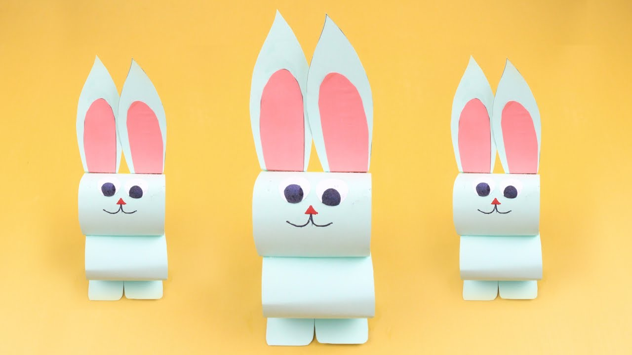 Origami Rabbit | How to Make Paper Rabbit Easy | Origami Animals Tutorial  for Kids - Origami Zone