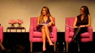 m.powerment and Lauren Conrad Event at Crosby Hotel in Soho