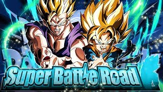 LR GOHAN & GOTEN + SIBLINGS BOND VS. CATEGORY SUPER BATTLE ROAD! (DBZ: Dokkan Battle)