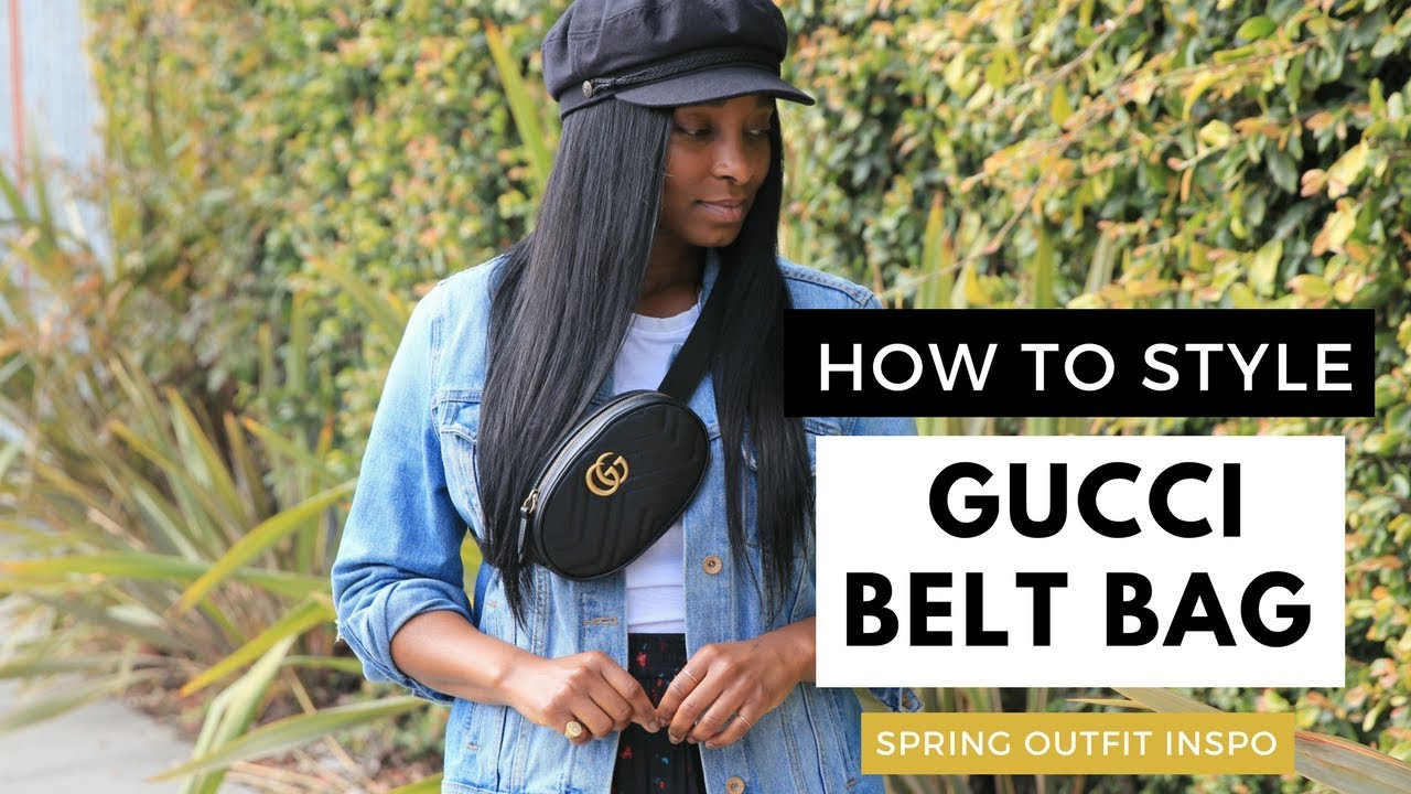 475d95add2f8 HOW TO STYLE | Gucci Belt Bag | CHANELFILES - YouTube