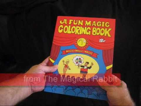 Fun Magic Coloring Book Amazing Visual Magic That S Easy To Do Youtube