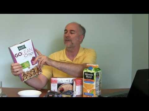 Dr Oz 7 Day Crash Diet- Day 1 Breakfast