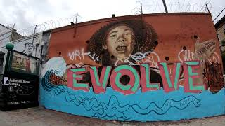 ⁴ᴷ Walking Tour of Bushwick, Brooklyn, NYC (Wyckoff Avenue, Myrtle Avenue, Street Art, Restaurants)