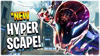 *New FIRST LOOK at Hyper Scape + Gameplay!! (Hyper Scape)