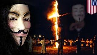 アノニマス、白人至上の差別主義者、KKKのメンバー身元を暴露