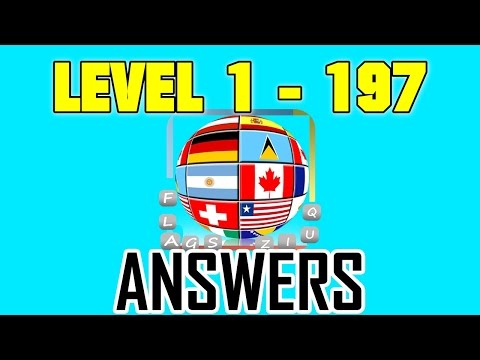 Countries Flags Quiz - Master 1 - 197 - All Answers - Walkthrough
