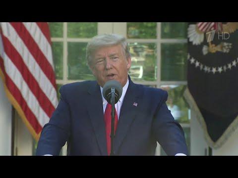 Дональд Трамп поблагодарил Россию за помощь, оказанную в борьбе с коронавирусом.