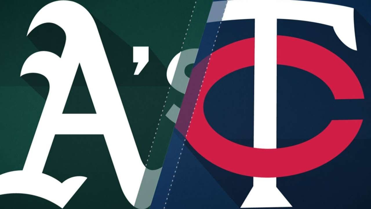 Garver, Mauer lead Twins to 6-4 victory: 8/23/18