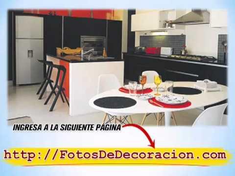 Fotos de decoración de cocina comedor [como decorar una cocina ...