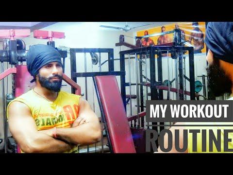 My Workout Routine - ft Shahrukh Abbas