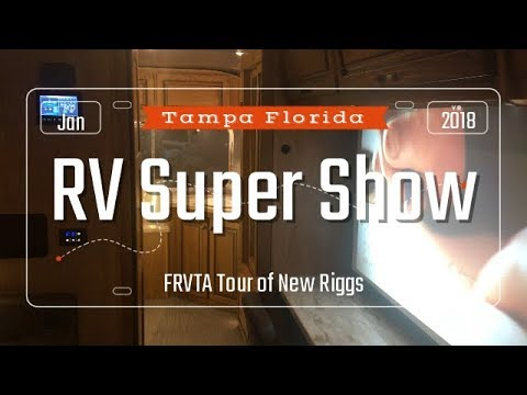 Tampa Florida RV Super show     Full Time Vlog #34