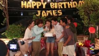 Surprise Party for James Reid!