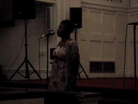 Ebony Dixon @ USC Gospel Choir's Back2School Concert