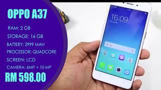Top 5 Bajet Smartphone 2017