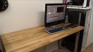 """restoring"" An Oak Desk / Table - Ectechtime"