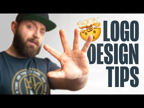 5 MIND BLOWING Tips for Successful Logo Design - Logo Design Tips 🤯