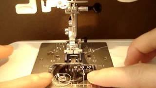 ジャノメミシンJP510♪糸通し機能と下糸セット thumbnail