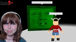 Hacking Cyber Trump's Wall | Roblox Shrek The Force Awakens Pt 2