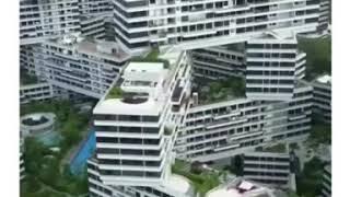 видео Необычный жилой массив в Сингапуре