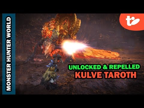 Unlocking Kulve Taroth Tracks, First Successful Repel | Mons