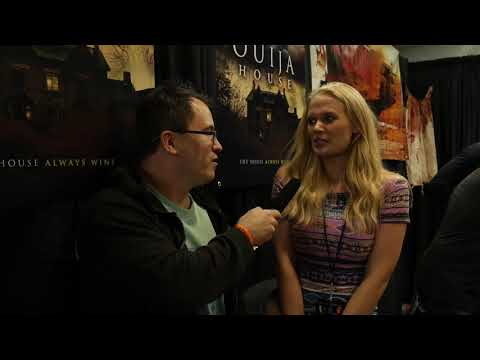Carly Schroeder (Ouija House) Interview: Texas Frightmare Weekend