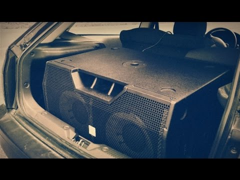 pa subwoofer in car the pyrit 212 sub a youtube. Black Bedroom Furniture Sets. Home Design Ideas
