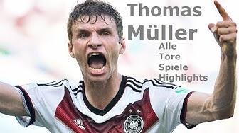 Thomas Müller -  Eine unglaubliche Karriere (Alle Highlights, Tore, Spiele und lustige Szenen) HD