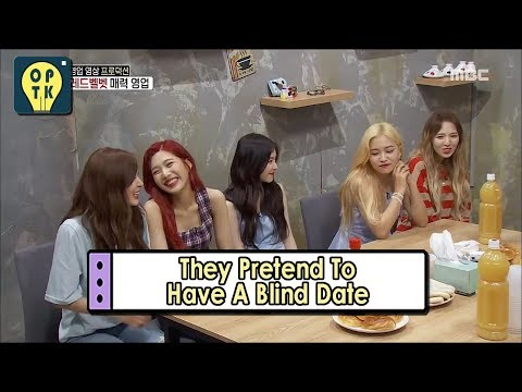 [Oppa Thinking - Red Velvet] Playing Situation Comedy Like They're Having A Blind Date 20170731
