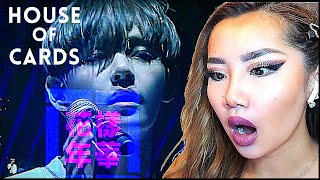 THIS MADE ME MELT! 😅 BTS 'HOUSE OF CARDS' (방탄소년단) LIVE ♠️ | REACTION/REVIEW
