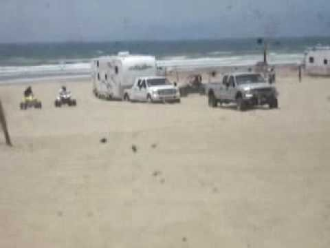 Getting RV's into the dunes