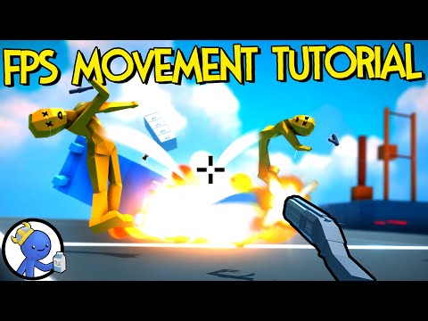 Unity FPS Movement Tutorial By Dani  |  Karlson Parkour FPS Controller