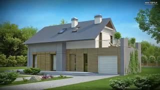 Удобный функциональный дом с террасой Z149 от Z500