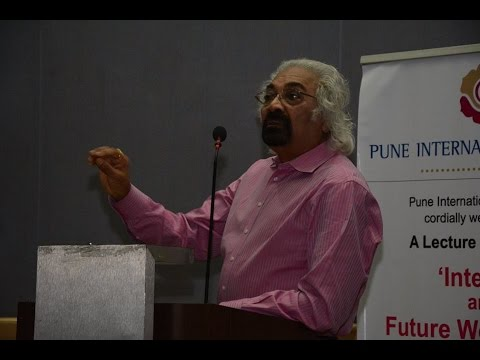 "PIC : Lecture by Dr. Sam Pitroda on the topic ""Internet and Future World Order"""