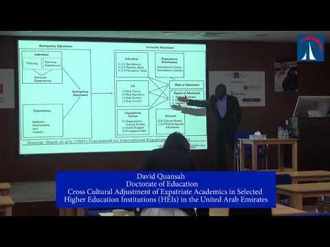 David Quansah - Doctorate of Education