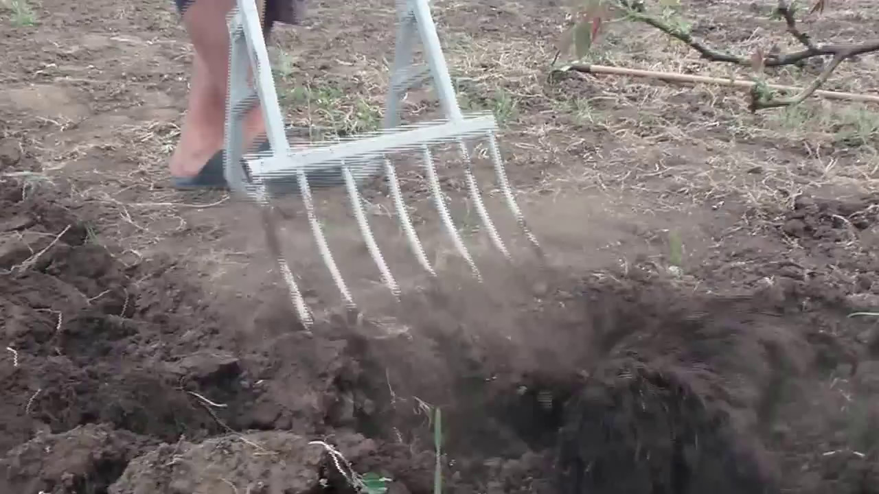 чудо вилы (чудо лопата) 7 зубьев - YouTube e542ceb195850